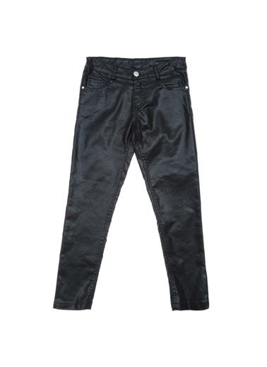 Panço Kız Çocuk Pantolon 18221012100 Siyah